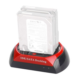 $enCountryForm.capitalKeyWord Canada - Wholesale- EU Convenient 2.5 Inch 3.5 Inch IDE SATA USB 2.0 Dual HDD Hard Drive Disk Docking Station Base Support Hard Disk Can In stock!