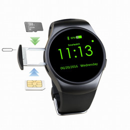 $enCountryForm.capitalKeyWord NZ - Large RoundTouch Screen Smartwatch With SIM And TF Card Slot Bluetooth MP3 Phone Watch Sleep Heart Rate Monitor Smart Watch For IOS Android