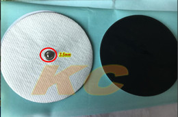 Replacement Electrodes NZ - 400pcs DHL Replacement cloth Therapy massage Electrode Pads Message round shape snap Stud Reusable for Digital Massager TENS