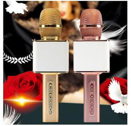 Magic Handle NZ - Magic microphone speaker YS10 factory offer nice sounds Karaoke SING player handled Microphone record for mobile phones