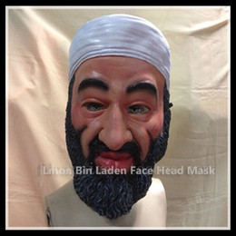 $enCountryForm.capitalKeyWord NZ - Free Shipping Top Selling Halloween Party Latex figure mask - funny toys - Osama Bin Laden Mask Famous People Face Head Mask