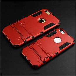 housing bracket Australia - Iron Man Armor Following cases Funda For iPhone X 8 7 plus 6 6s plus se case Housing protection bracket Combo Set Mobile Phone bag Cover