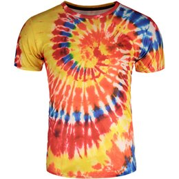 $enCountryForm.capitalKeyWord Canada - Color vortex T shirt Quick dry short sleeve gown Cool paint tees Leisure printing clothing Quality cotton Tshirt