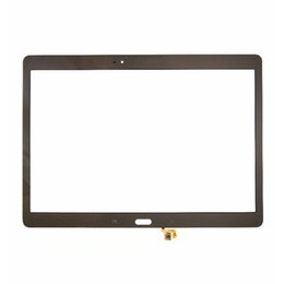 20pcs tested bronze white for samsung galaxy tab s 105 lte t800 t805 touch screen digitizer outer panel front glass sensor dhl free