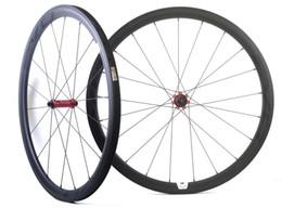 700C 38 mm de profundidad 25 mm ancho ruedas de carbono bicicleta de carretera Tubular ruedas de carbono con eje EVO recto, borde en forma de U en venta