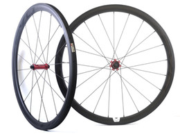 China 700C 38mm depth 25mm width carbon wheels road bicycle Tubular carbon wheelset with EVO straight pull hub, U-shape rim cheap bicycles 28 suppliers