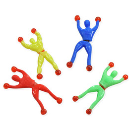 toys climb 2019 - Climbing People Climbing Man Sticky Toy Hop Soft Glue Climbing Wall People Birthday Party Favors Gift Christmas New Year