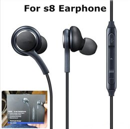 High Headphones Canada - For Samsung s8 Earphone Earbuds High Quality EO-IG955 OEM Tuned Earphones In Ear Headphone Headset for Galaxy s8 plus With Mic Retail Box