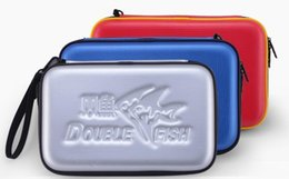 Tables Low Price Australia - Low price Table tennis racket cover Double fish G shape table tennis bag single set