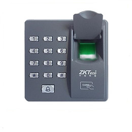 biometric fingerprint scanner Canada - ZKT X6 Digital electric RFID reader finger scanner code system biometric recognition fingerprint access control ZKT X6 for home security