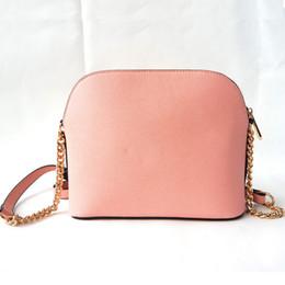 Envío libre al por mayor 2019 nuevo bolso cruz patrón PU cuero sintético shell bolsa cadena bolsa hombro Messenger bag pequeño fashionista