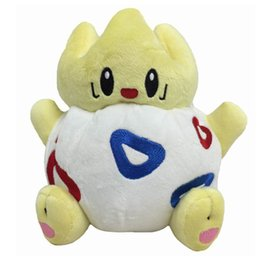 japanese anime gifts 2019 - Stuffed Animals 20cm TOGEPI Cute Stuffed Baby Plush Toys Soft Doll Toy New Japanese Anime Gift For Baby Kids Christmas P