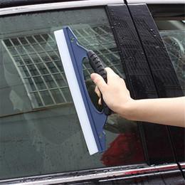 Wholesale  Glass Window Wiper Soap Cleaner Squeegee Shower Bathroom Mirror  Car Blade Brush
