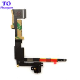 Wholesale New Hot sale Headphone audio jack flex cable (wifi version) for ipad 2 2nd wifi, fast shipping!!