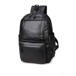 China Wholesale- 2017 Gift For Men School Backpack Computer Laptop Backpack Male High School College Student Bookbag Travel Fashion Men Backpack cheap backpacks for college suppliers