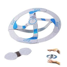Discount ufo disk - New Arrival Novetly Toys Magic Tricks Floating Flying Disk Amazing Floating UFO Toys Magic Trick Toy Assembled by yourse