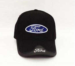 Chinese  Hot sale-2015 New Fashion Ford racing cap embroidery solid baseball cap for women and men casquette 100% COTTON cap hat Drop shipping manufacturers