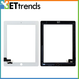 3m ipad screen NZ - high quality lcd creen for iPad 2 3 4 Touch Screen Glass Digitizer Assembly With Home Button & 3M Adhensive Free Shipping by DHL