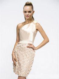 $enCountryForm.capitalKeyWord UK - Banquet Party Dresses 2017 New Shoulder Fashion Fold Belt Graduation Prom Gowns Luxury Crystal Flower Decoration Homecoming Dress plus size