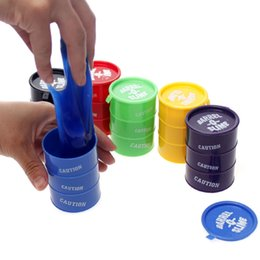 China Latex Oil Barrel O Slime Small Joke Gag Prank Gift Toy Crazy Trick Party Supply 24pcs Trick Funny Toy Those Trick Drums cheap funny prank gifts suppliers