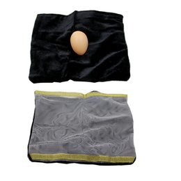 China Wholesale- 1pcs Comedy Malini Egg Bag Classic close up magic tricks illusion magie props mentalism trucos de kids magia toy 83020 cheap mentalism magic tricks suppliers