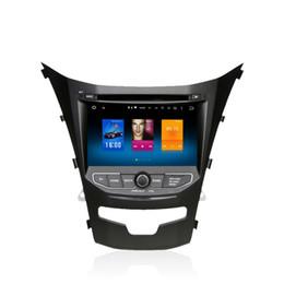 Sat Nav Stereo Canada - For Ssangyong Korando Actyon 2014+ Android 6.0 Octa Core Autoradio Car Radio Stereo GPS Navigation Multimedia Media System Sat Nav NO DVD