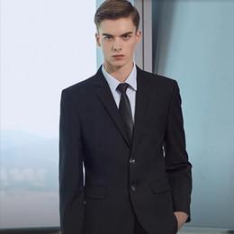 $enCountryForm.capitalKeyWord Australia - Custom made men suits simple fashion men wedding suits tuxedos slim fit business formal occasions suits(jacket+pants)