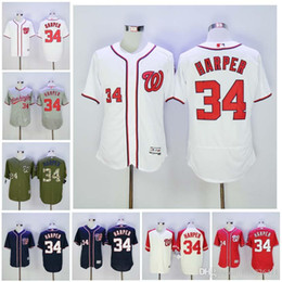 4814ac07 Authentic Jersey Cheap 34 Bryce Harper Jersey MLB Washington Nationals  Baseball Jerseys Flexbase . ...