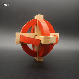 $enCountryForm.capitalKeyWord NZ - Wood Kong Ming Lock Toys Kids Gifts Tellurion Puzzle 3D Intellectual Games For Adult Teaching Aids Educational Toy