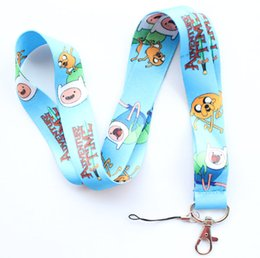 $enCountryForm.capitalKeyWord NZ - Wholesale New Universal 20pcs Popular Anime Cartoon car Mobile phone lanyard Key Chain ID card hang rope Sling Neck strap Pendant Gifts 132