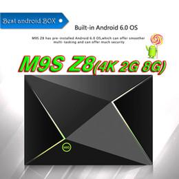 $enCountryForm.capitalKeyWord NZ - [Genuine] M9S Z8 2GB 8GB Media Box Android 6.0 Smart TV Box Bluetooth media player Streaming Player IPTV Set Top Boxes MINI PC