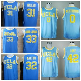 d30c64b3e826 2016 UCLA Bruins College Basketball Jersey Uniforms 42 Kevin Love 33 Kareem  Abdul .