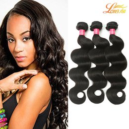 Discount unprocessed human hair wet curly - Factory 7A Brazilian Virgin Hair Body Wave Extension 3Bundles Wet And Wavy Cheap Unprocessed Malaysian Human Curly Body