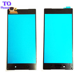 Discount replacement for xperia - Original Touch Screen For Sony Xperia Z5 E6683 Z5 Compact Z5 Mini E5803 E5823 Touch Panel Sensor Digitizer Replacement G