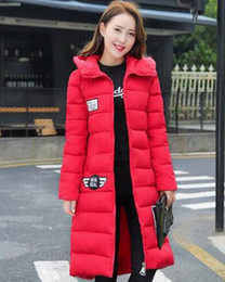 $enCountryForm.capitalKeyWord Canada - Woman new winter fashion boutique personality show thin thickening hooded down jacket cotton-padded jacket coat   M-3XL