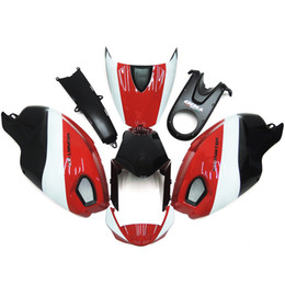 white fairings UK - ACE Motorcycle Fairings For Ducati 696 796 795 1000 1100 09 10 11 2009-2010 2011 ABS Inkection Mold good nice cool red white