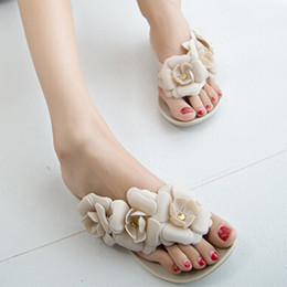 melissa shoes jelly sandals Canada - top quality Melissa jelly Harmonic Bow shoes sandals bowknot flip-flops female free shipping with box