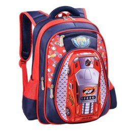 3a15b23faed7 5D car-styling children school bags for teenagers boys kids cartoon car  backpack 16 inch book bag large capacity mochila escolar