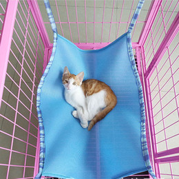 3 colors 3 size breathable material cat hanging bed pet cats cage hammock summer choice cat bed hammockfree shipping large cat hammock nz   buy new large cat hammock online from best      rh   nz dhgate