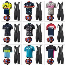 cycling kits 2019 - 2017 Morvelo Cycling Jerseys Short Sleeves Cycling Clothes Kit With 9D Gel Padded Shorts Hombre Racing Mtb Bike Sport Qu