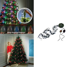 $enCountryForm.capitalKeyWord UK - New 64 Bulbs Christmas Tree Light Show Maker Of Star Shower Handy Light String for Christmas Tree with Retail Box