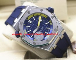 $enCountryForm.capitalKeyWord Canada - Luxury Wristwatch Diver ST.OO.A027CA.01 Blue Rubber Bracelet Automatic Watch Men Watches Top Quality New Arrival