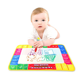 China Baby Water Drawing Toys Aqua doodle Mat&1 Magic Pen Water Drawing board 4 color suppliers