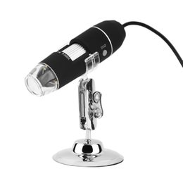 Camera miCrosCopio online shopping - 20pcs New Mega Pixels X LED USB Digital Microscope Endoscope Camera Microscopio Magnifier Z P4PM