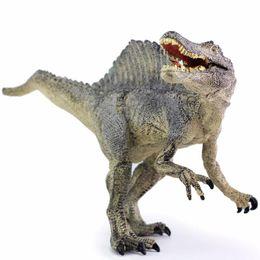 Children eduCational online shopping - Jurassic Spinosaurus Dinosaur Toys Action Figure Animal Model Collection Learning Educational Children Toy Gifts
