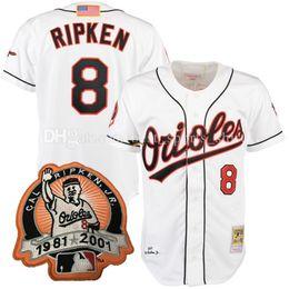 sale retailer b858a aea32 baltimore orioles 8 cal ripken mesh batting practice black ...