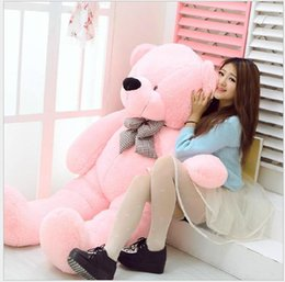 quality plush toys Australia - 2017 High quality 80CM 2.62 FOOT Giant Huge plush teddy bears Holiday Gifts Christmas Stuffed Plush toys