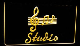 Led music signs online shopping - LS237 y Studio On Air Music Bar Pub LED Neon Light Sign