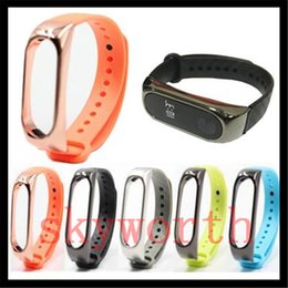 Fiber bracelet online shopping - For Xiaomi Mi TPU Carbon Fiber Silicone Smart Bracelet Wristband band Replacement Strap Miband Accessories Strap environment watch band