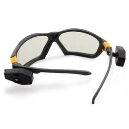 China Night Vision Goggles with Bright LED light LED Reading Glasses industrial work safety Night reading Repair Outdoor Sports Riding Cycling cheap work goggles suppliers